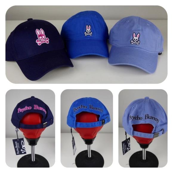 Psycho Bunny Other - Psycho Bunny Baseball Caps Hats NWT 3 Hat Bundle